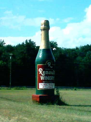 Renault Wine Bottle #2