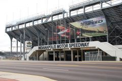 Old US 136: Main entrance of IMS, Speedway.