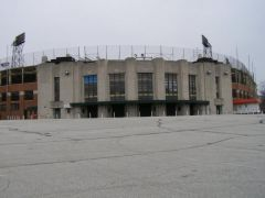 Old US 52/136: The original Victory Field, later called Bush