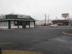 Old US 136: A former Burger Chef next to a former Dunkin Don