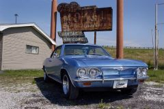 1965 Corvair - Art's Motel