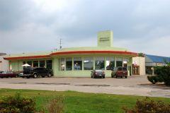 "Old US 40: Old restaurant in Irvington. Now ""La Haciend"