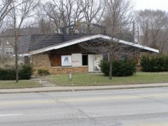 Old US 36/421: Abandoned Burger Chef. This is the 2nd genera