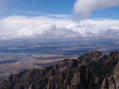 Overlooking Albuquerque