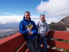 On Sandia Peak