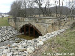 Peters Creek National Road Bridge - Mar 2006