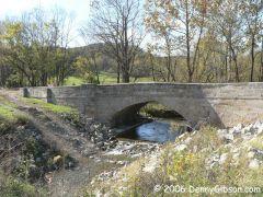 Peters Creek National Road Bridge - Oct 2006