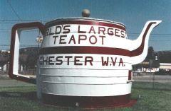 World's Largest Teapot
