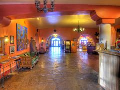 The Lobby of the La Posada in Winslow