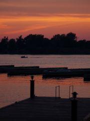 Sunset on Alexandria Bay, NY