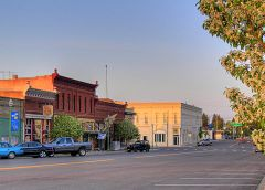 Evening in Downtown Waterville, Washington