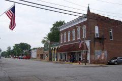 Downtown Bainbridge, IN on Old US 36