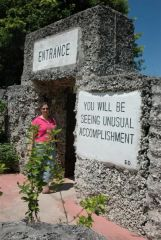 Coral Castle Entrance, Homestead, FL