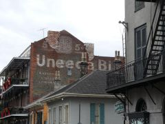Ghost Sign on Dumaine in New Orleans