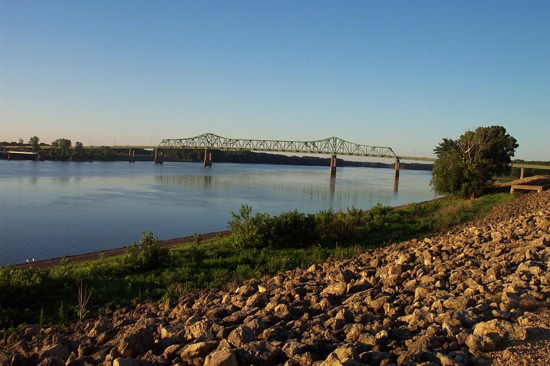 Mississippi River Bridge at Clinton, IA