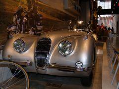 1954 Jaguar XK 120 Front View