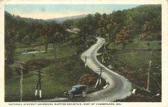 National Highway Ascending Martins Mountain - East of Cumber