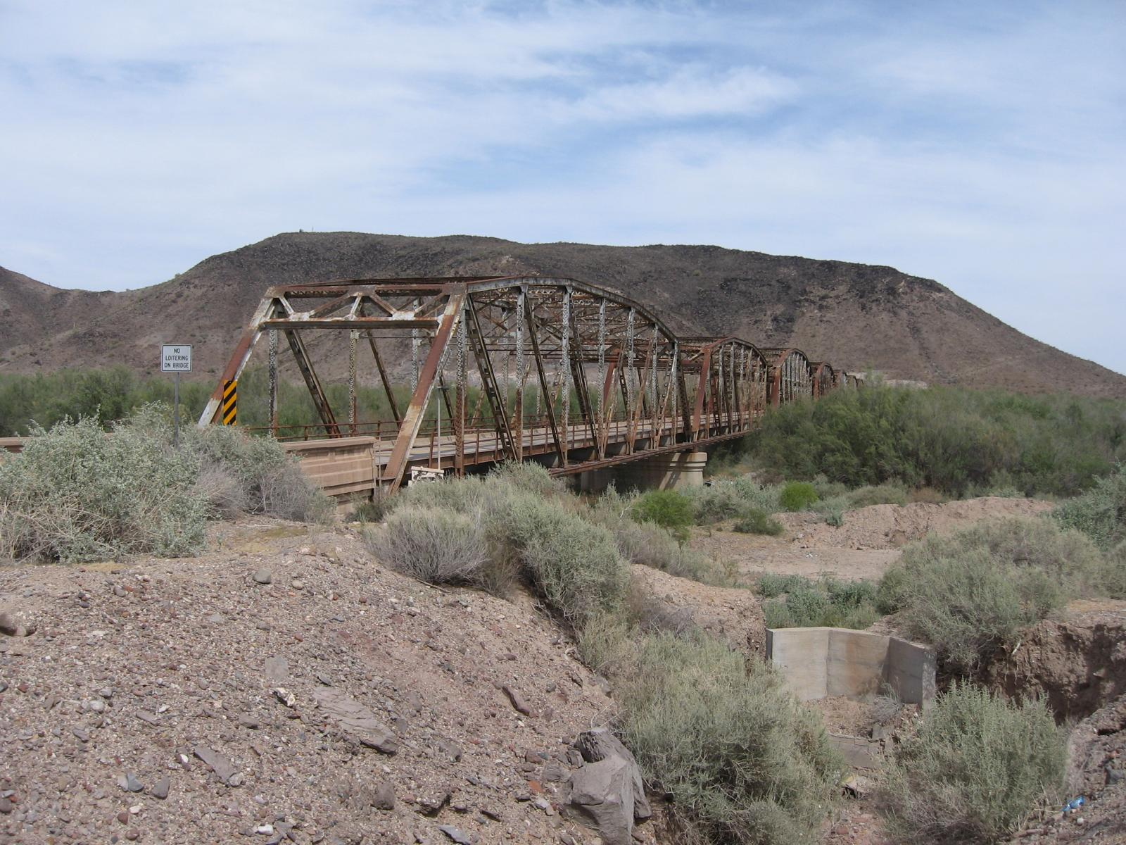 old US 80 bridges in Arizona