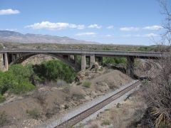 1921 Cienega Creek bridge between Tucson and Benson AZ
