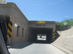 Old SR86 railroad underpass, Benson AZ