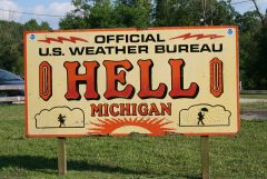 Hell, Michigan Weather Bureau