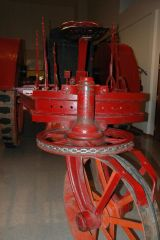 Square Turn Tractor at Elkhorn Valley Museum