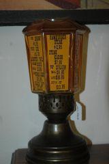 Menu from Brass Lantern