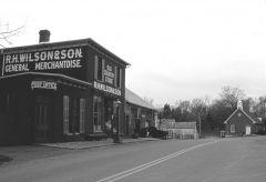 Wilson store looking west