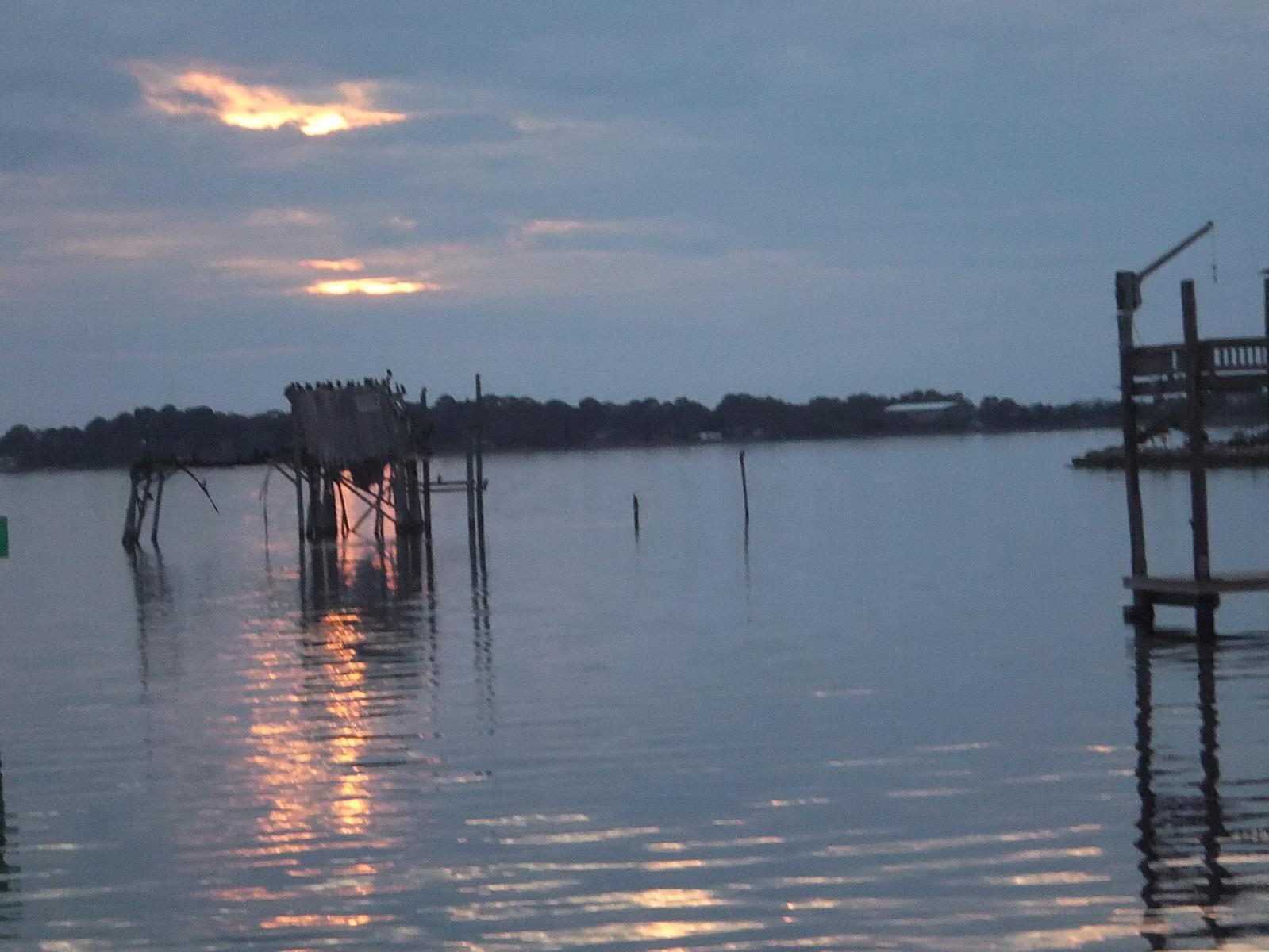 View from Dockside Motel, Cedar Keys, FL