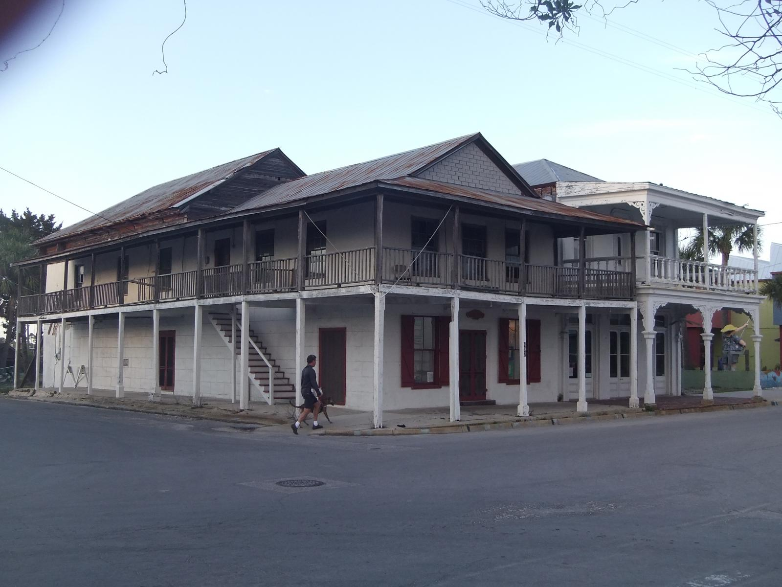 Classic Buildings in Cedar Key, FL