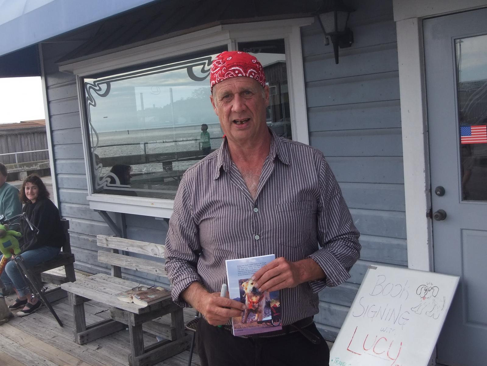 Local Author, Cedar Keys, FL