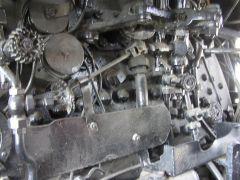 Inside Locomotive 2713- Stevens Point, WI