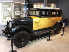 """Ernie's Taxi from """"It's A Wonderful Life"""""""