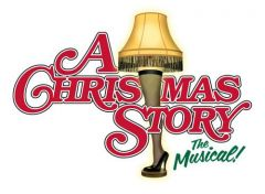 A Christmas Story Musical Marquee