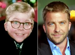 Star Peter Billingsley now a distinguished director.