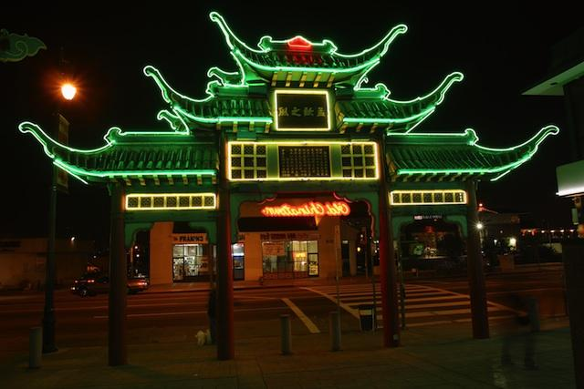 Chinatown, Los Angeles, CA