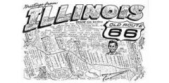 Waldmire Postcard of Illinois