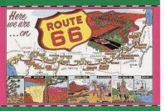 Route 66 Billboard