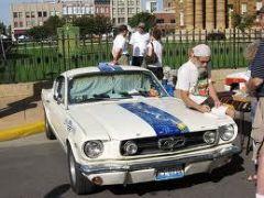 Mustang Mural