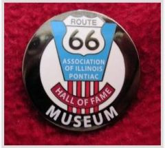 Route 66 Assoc. Button