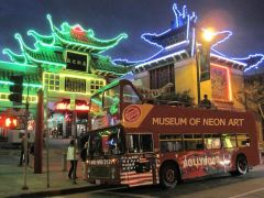 MONA Bus for Neon Sightseeing Tours
