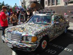Pens+Art+Car