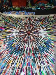 Pens on the Hood
