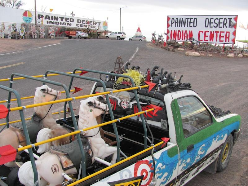 Small Art Car version of the World's Largest Things collection.