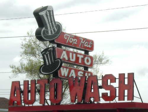 Top Hat Auto Wash, Flint, Michigan