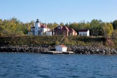 Small Lighthouse and Keepers House