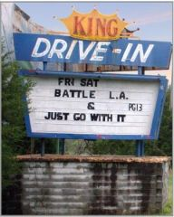 King Drive In Marquee 2011