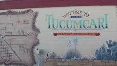 Tucumcari, NM mural.