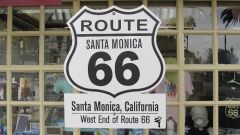 Santa Monica, CA, the end of Route 66.