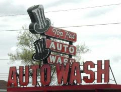 Top Hat Auto Wash, Flint, Michigan